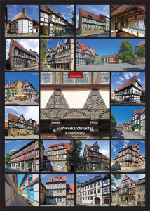 Fachwerkarchitektur in Quedlinburg