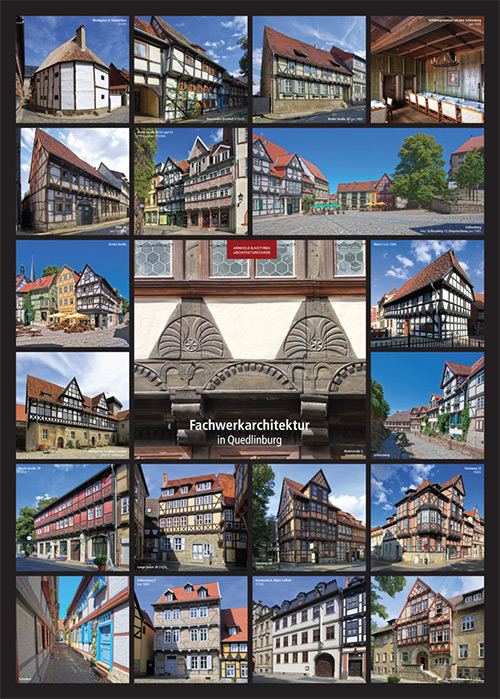 Fachwerkarchitektur in Quedlinburg