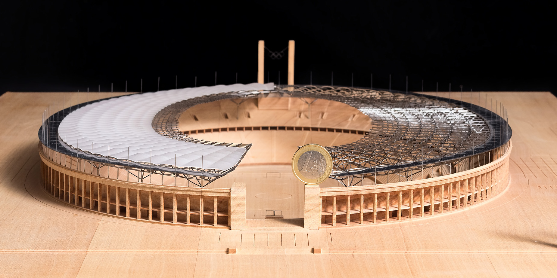 Fotografie Architekturmodell | Olympiastadion Berlin