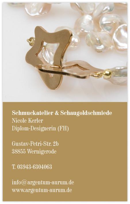 Schmuckatelier & Schaugoldschmiede, Wernigerode