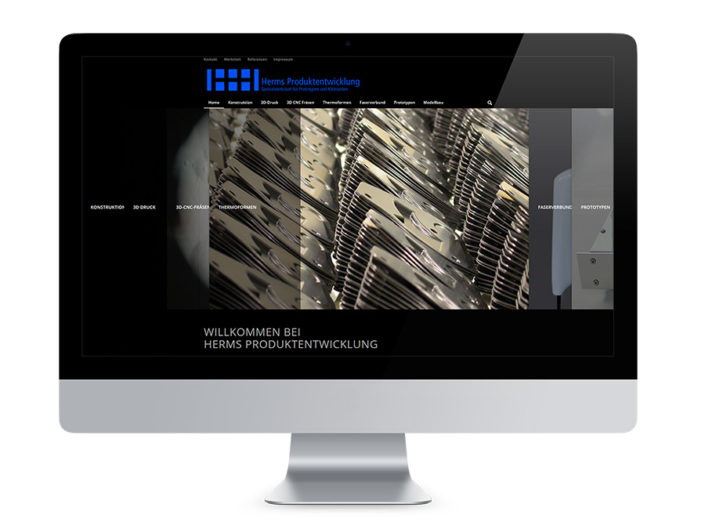 Webdesign Braunschweig, Herms Produktentwicklung