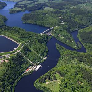 Rappbode-Talsperre (Luftaufnahmen)