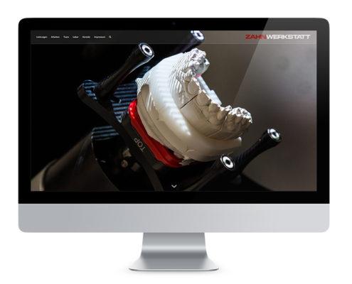 Webdesign Wernigerode, Dentallabor Zahnwerkstatt