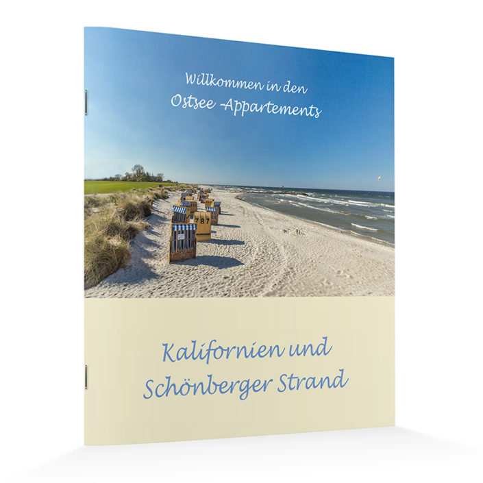 Booklet - Ostsee Appartements Kalifornien
