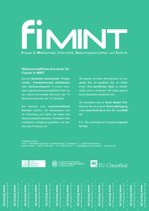 fiMINT - Frauen in Mathematik, Informatik, Naturwissenschaften und Technik