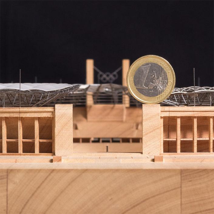 360-Grad-Objektfotografie | Architekturmodell Olympiastadion Berlin