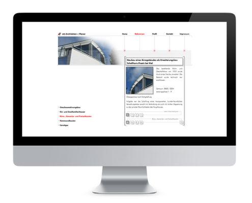 Webdesign Hannover, at5 Architekten