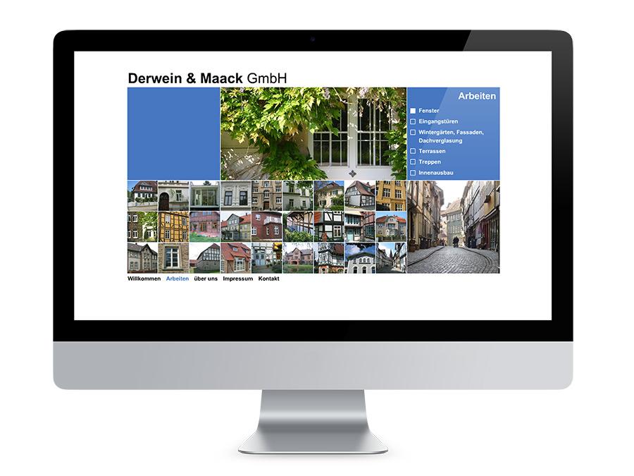 Webdesign Braunschweig, Tischlerei Derwein und Maack