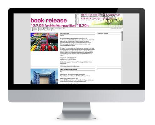 Webdesign Braunschweig, Institut für Entwerfen der TU-BS