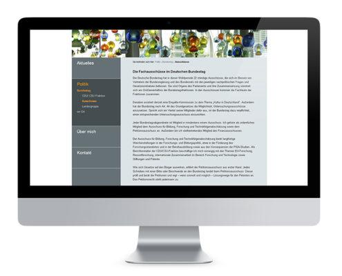 Webdesign Braunschweig, Carsten Müller MdB
