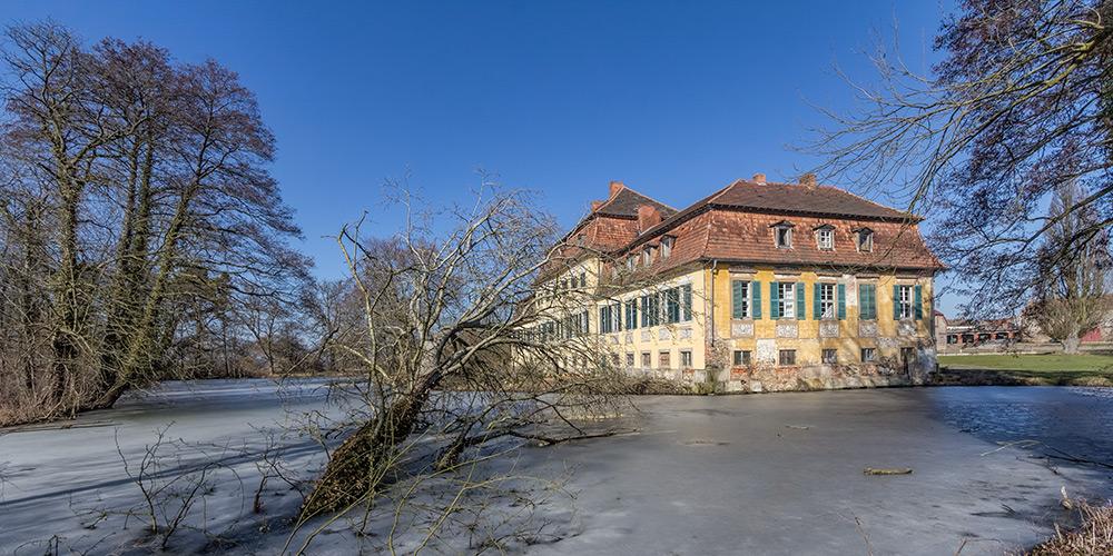 Seggerde, Gutshaus und Gutspark