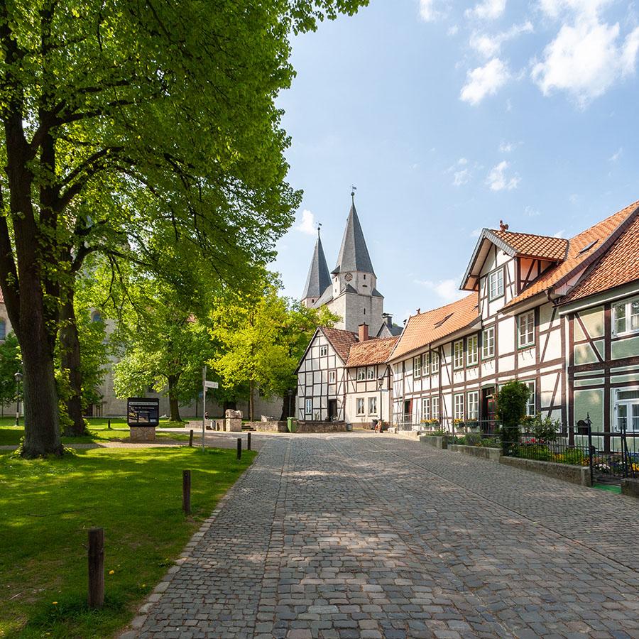 Nordansicht Kaiserdom Königslutter | Architekturfotografie Sándor Kotyrba