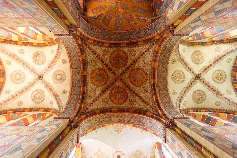 Vierungsgewölbe Kaiserdom Königslutter | Architekturfotografie Sándor Kotyrba