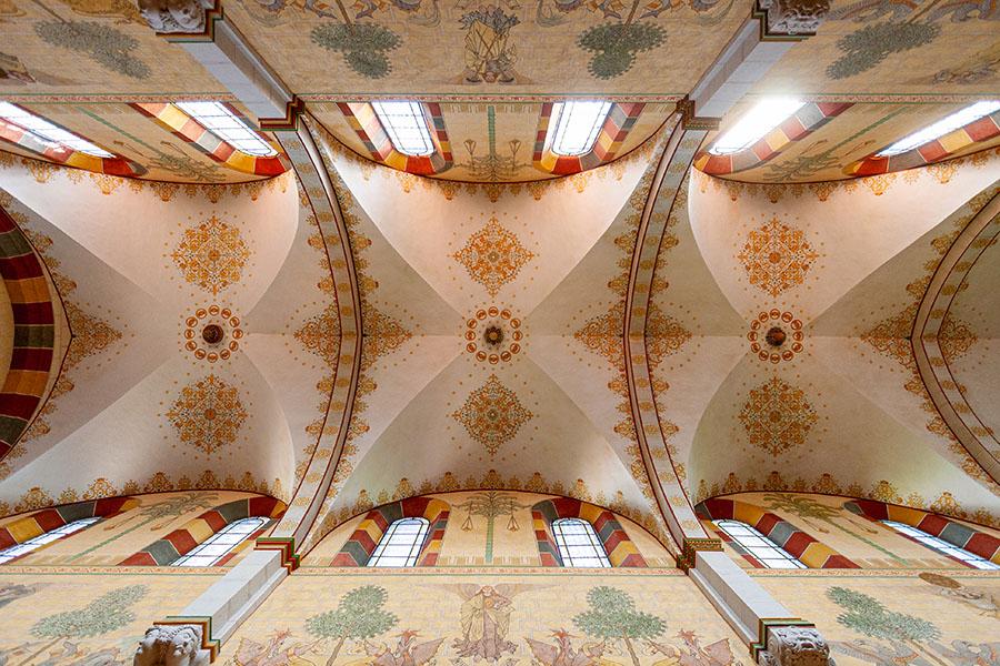 Deckengewölbe Kaiserdom Königslutter | Architekturfotografie Sándor Kotyrba