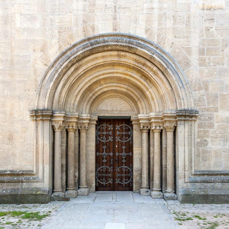 Nordportal Kaiserdom Königslutter (#4562) | Architekturfotografie Sándor Kotyrba