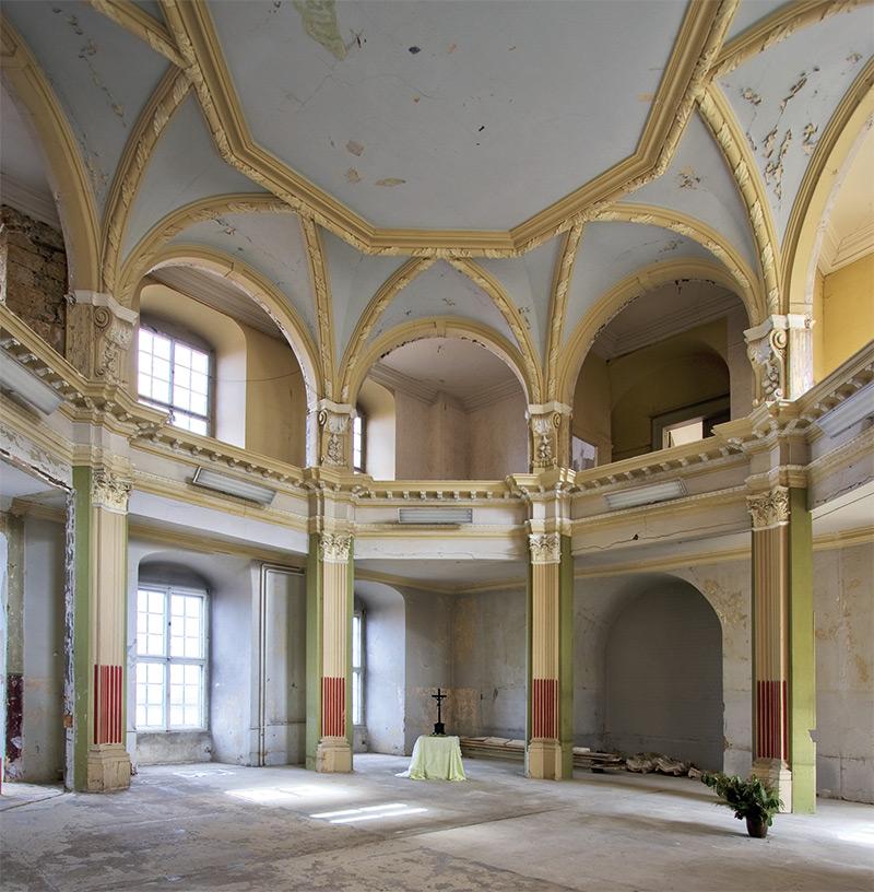 Großes Schloss Blankenburg | Architekturfotografie Sándor Kotyrba