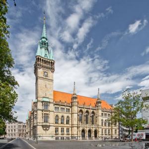 Südansicht Neues Rathaus Braunschweig | Architekturfotografie Sándor Kotyrba