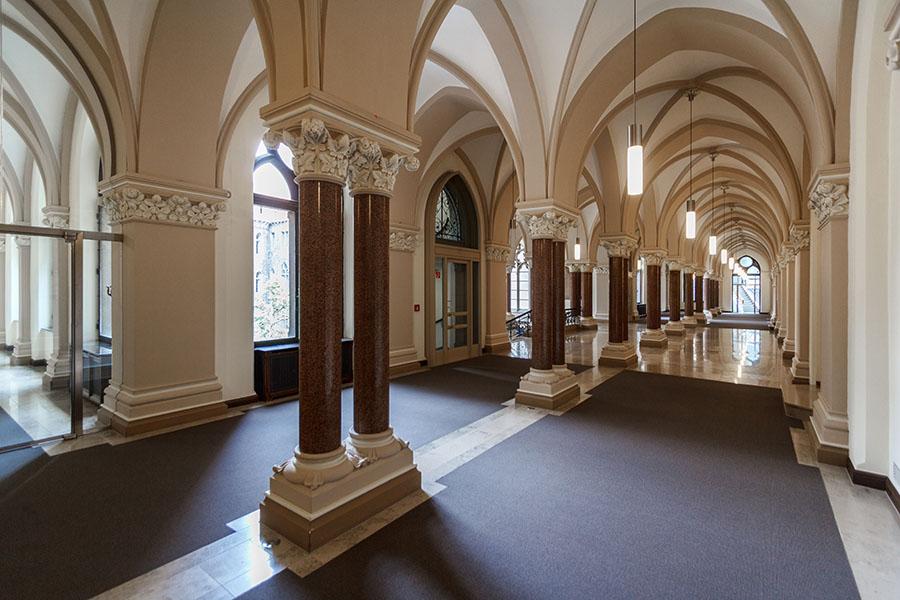 Oberes Foyer | Neues Rathaus Braunschweig