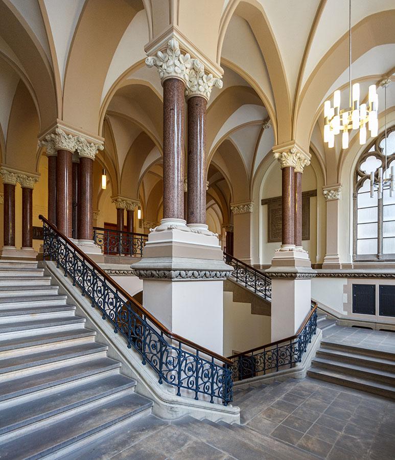 Treppenhaus | Neues Rathaus Braunschweig