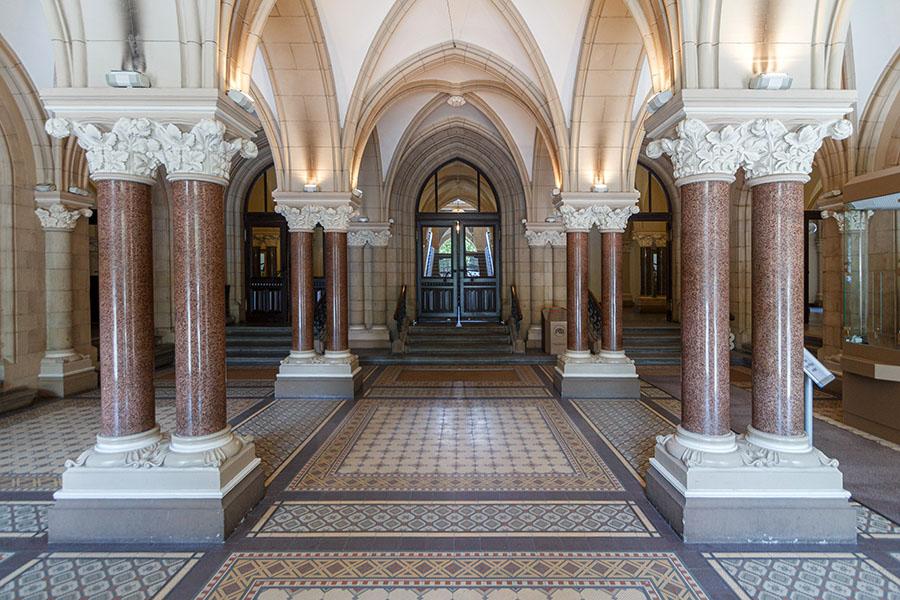 Unteres Foyer | Neues Rathaus Braunschweig