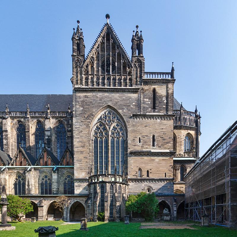 Dom St. Mauritius und Katharina Magdeburg (#9548) | Architekturfotografie Sándor Kotyrba