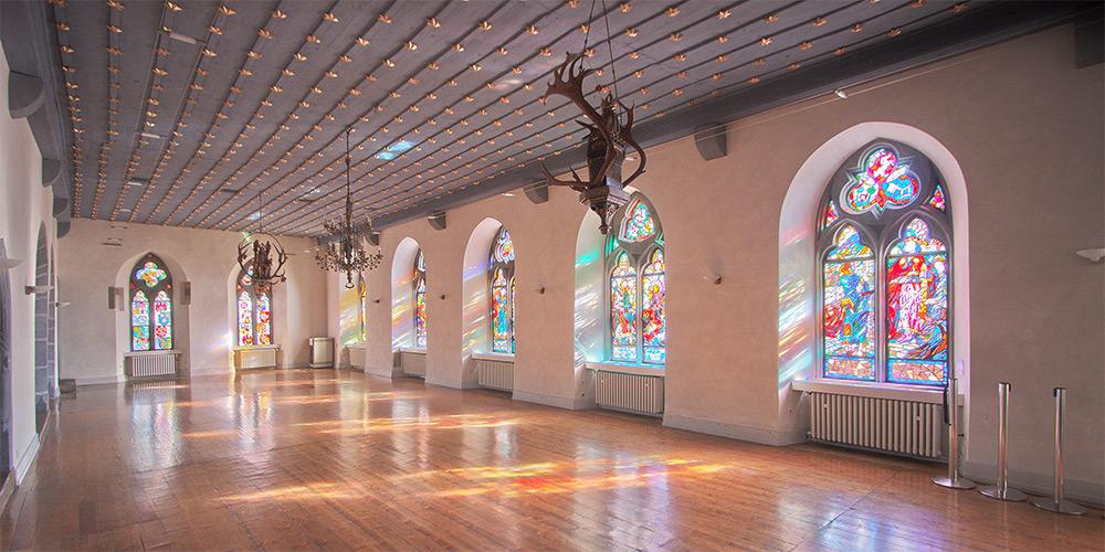 Huldigungssaal Eingangshalle Goslar (#3443) | Architekturfotografie Sándor Kotyrba