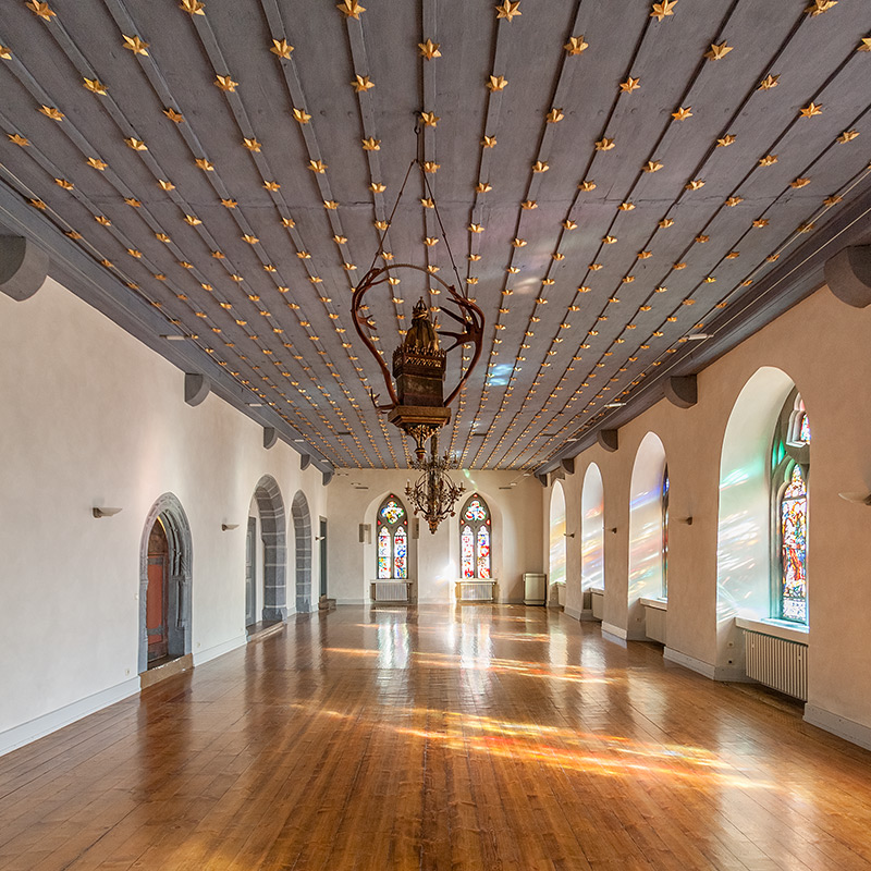 Huldigungssaal Eingangshalle Goslar (#3454) | Architekturfotografie Sándor Kotyrba