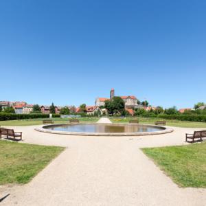 Brühlpark Quedlinburg (#9315) | Architekturfotografie Sándor Kotyrba