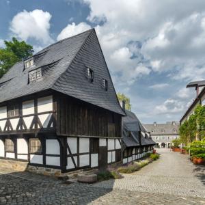 Südostansicht Zinnfigurenmuseum Lohnmühle Goslar | Architekturfotografie Sándor Kotyrba