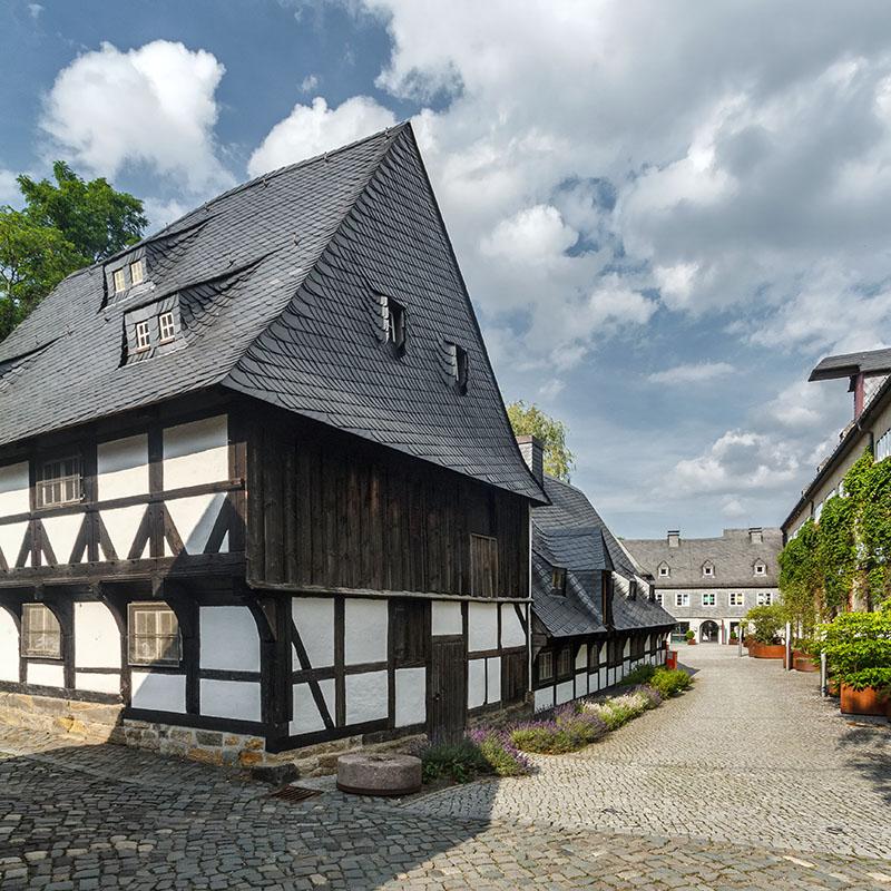 Südostansicht Zinnfigurenmuseum Lohnmühle Goslar   Architekturfotografie Sándor Kotyrba