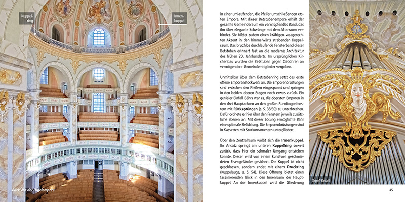 Architekturführer Frauenkirche Dresden | Innenraum