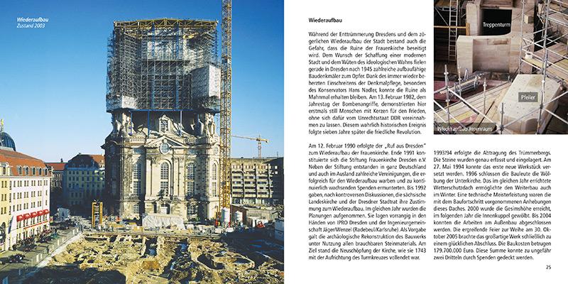 Architekturführer Frauenkirche Dresden | Wiederaufbau