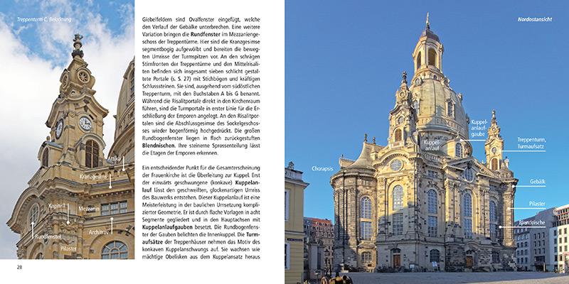 Architekturführer Frauenkirche Dresden | Außenansicht