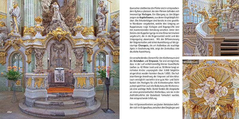 Architekturführer Frauenkirche Dresden | Altar