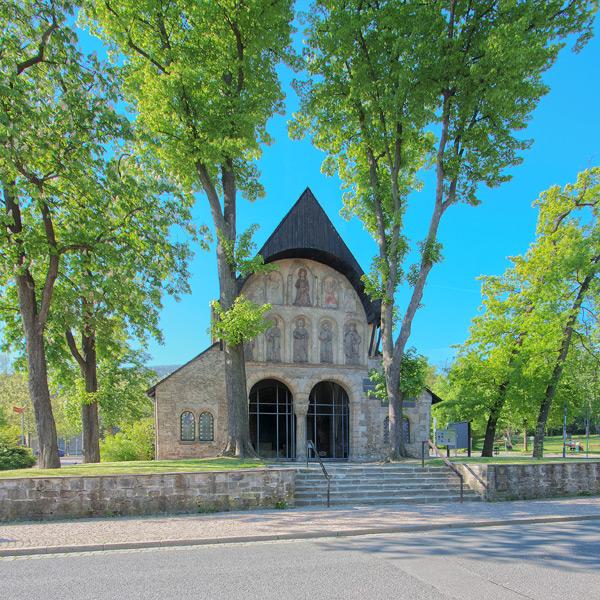 Domvorhalle Goslar | Architekturfotografie Sándor Kotyrba