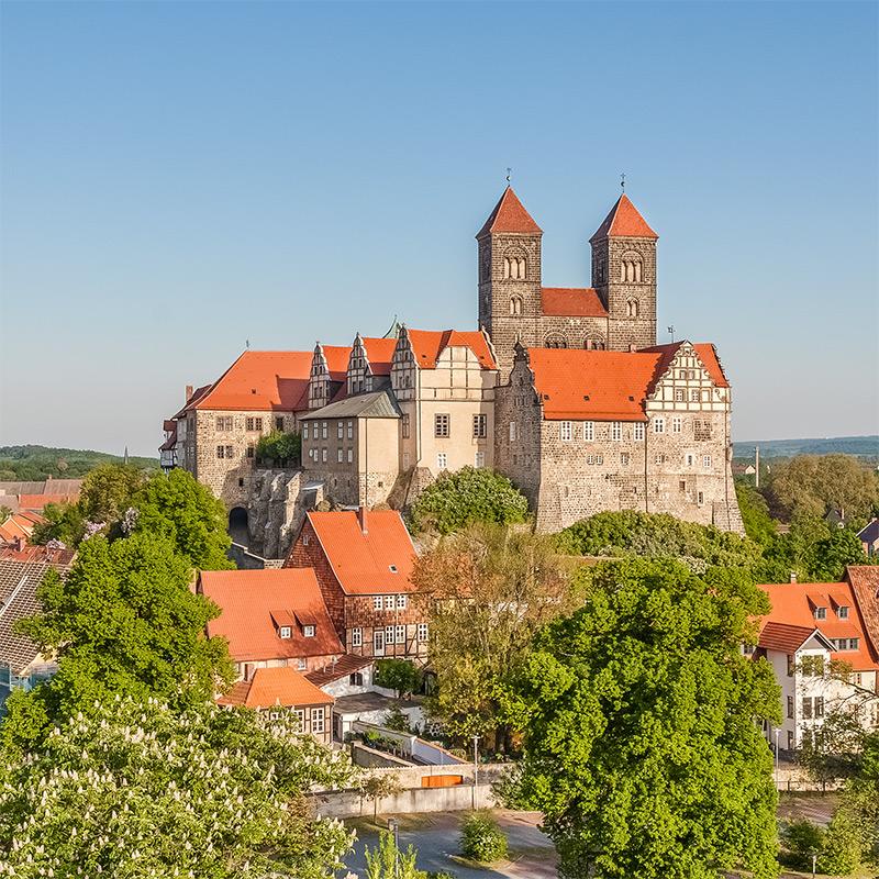Schlossberg Quedlinburg | Architekturfotografie
