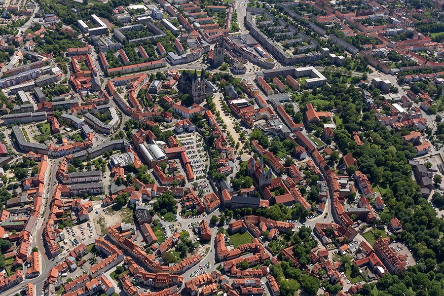 Luftbild Halberstadt