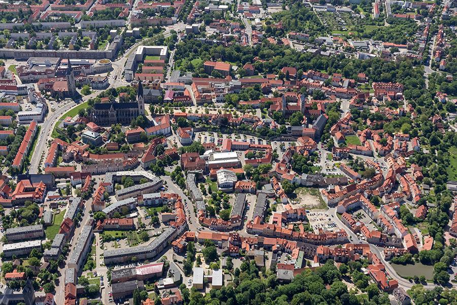 Luftbild Halberstadt | Gröpernstraße