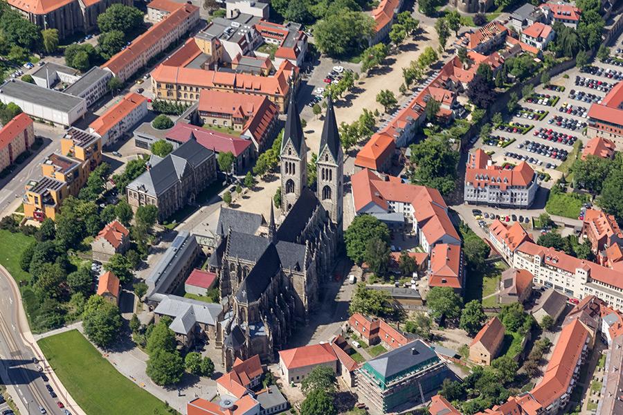 Luftbild Halberstadt | Dom