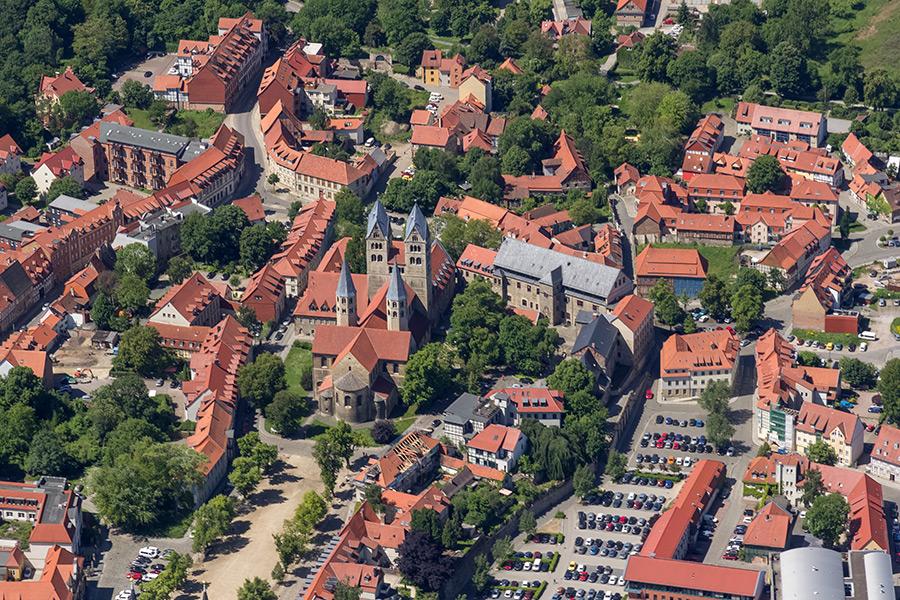 Luftbild Halberstadt | Liebfrauenkirche