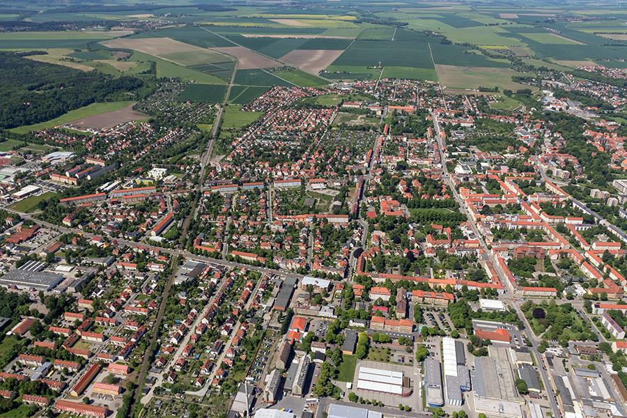 Luftbild Halberstadt (#8369)