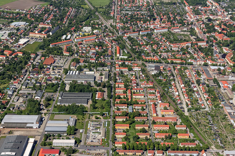 Luftbild Halberstadt (#8371)