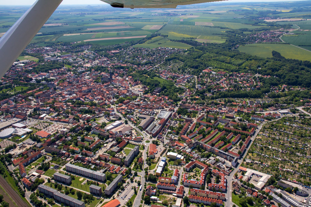 Luftbild Aschersleben #8634 | Sándor Kotyrba