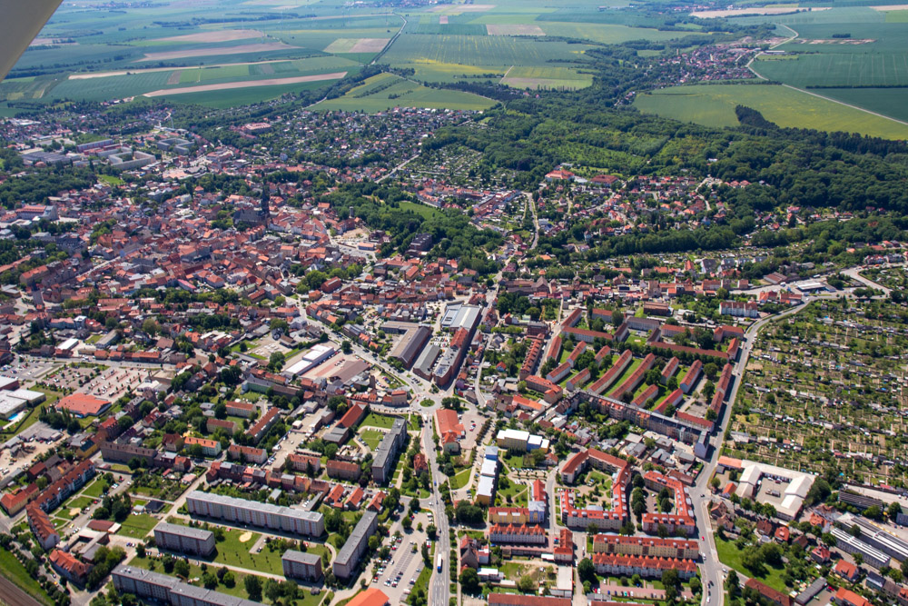 Luftbild Aschersleben #8635 | Sándor Kotyrba