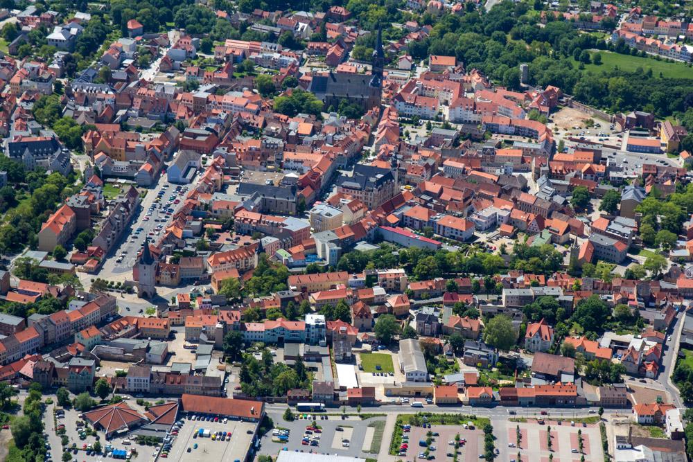 Luftbild Aschersleben #8639 | Sándor Kotyrba
