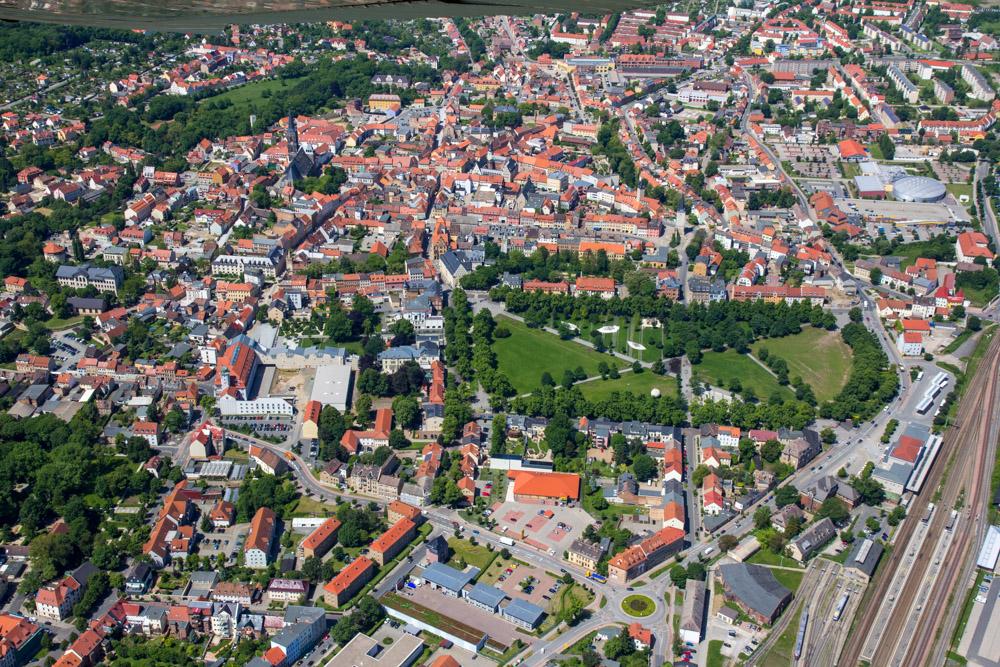 Luftbild Aschersleben #8649 | Sándor Kotyrba