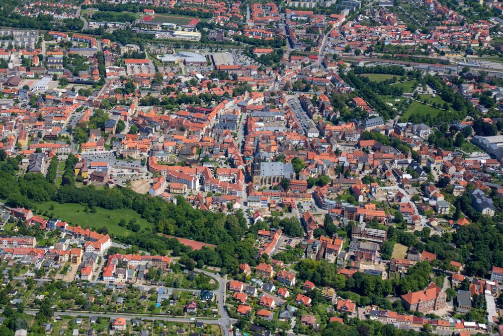 Luftbild Aschersleben #8666 | Sándor Kotyrba
