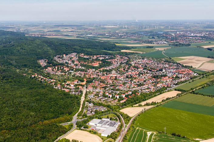 Luftbild Salzgitter-Gebhartshagen #9499 | Sándor Kotyrba