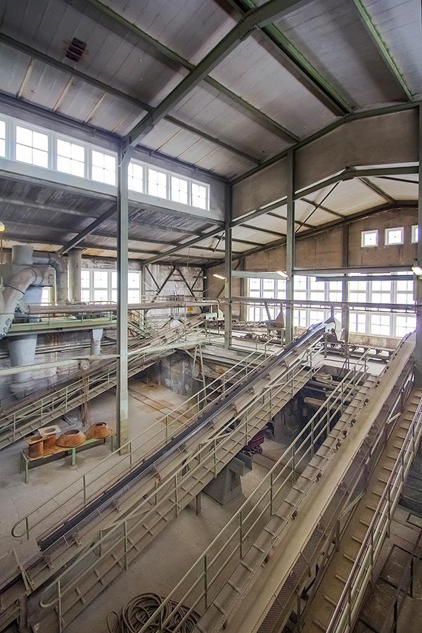Goslar, Rammelsberg, Aufbereitungsanlage