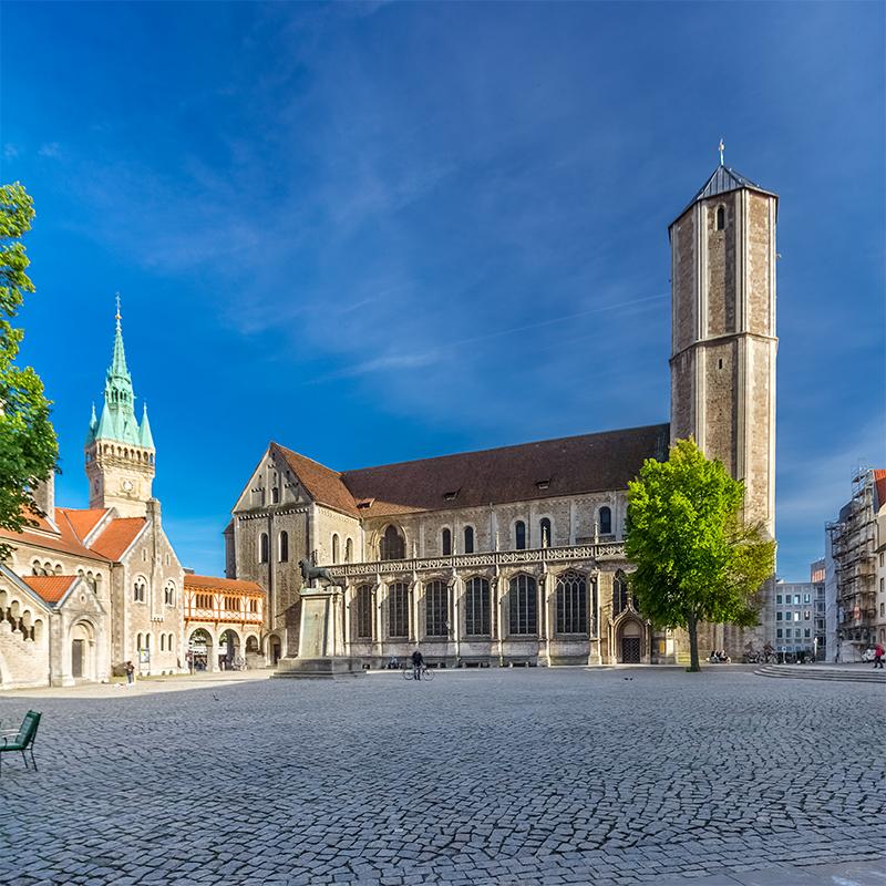 Braunschweig, Burgplatz (Dom)